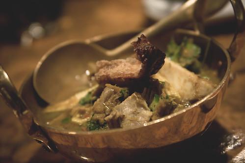 geng hung leh - Burmese Curry of Sloping Hills Pork