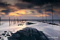 -  - The tide is in - Fubao wetlands (prince470701) Tags: taiwan  thetideisin  doublyniceshot sonya850 sony2470za fubaowetlands