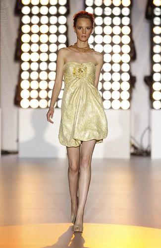 vestido de festa curto 2011
