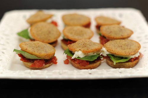 tomato sliders