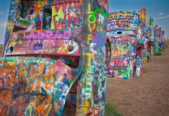 burying your head in the sand (windybug) Tags: art car canon graffiti route66 texas cadillac amarillo transportation vehicle spraypaint cadillacranch 1022mm canonefs1022mm canon1022mm 50d canon50d img6017 epicroadtripthewest