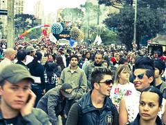 Parada da Diversidade 2010 (alemdaparada) Tags: brazil bw paran pb curitiba lgbt setembro 2010 travestis gays pontagrossa lsbicas cidadania diversidade transexuais paradadadiversidade bisexuais