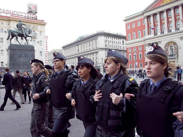 Женщины в милиции