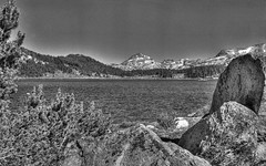 BEARTOOTH LAKE HDR (turbguy - pro) Tags: lake film beartooth