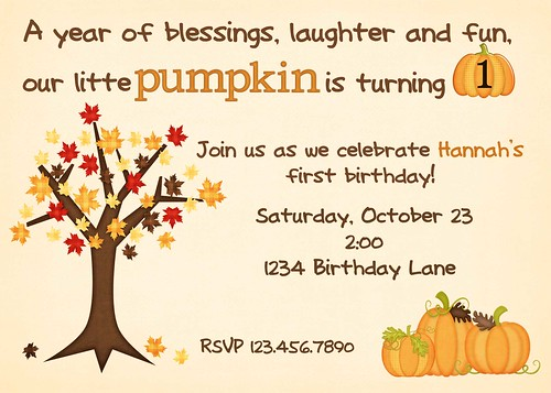 pumpkin birthday 2