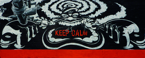 keep calm graffiti mashup