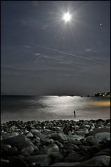 moonlight (Nicos Xenos) Tags: sea moon hellas moonlight nicos aigio selianitika