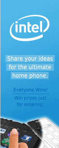 Intel-Chance to win a Notebook and software