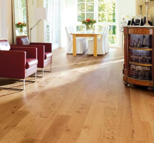 Haro rustic plank oak floor