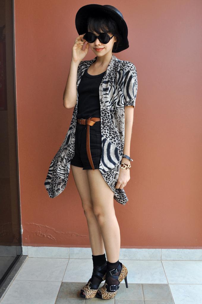 mix leopard print