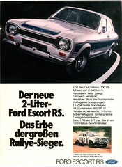 1973 Ford Escort RS 2000 (Germany)