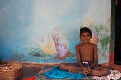 Enfant (hubertguyon) Tags: portrait india village child tribal tribe enfant orissa inde regard tribu earthasia talasaora