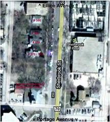 Sherbrook Street Houses (Google Map)