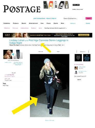 Post'age - Lindsay-Lohan