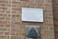 Photo of University of London stone plaque
