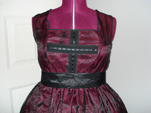 Maroon Gothic Lolita 03