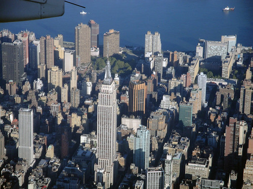 Empire State Building from above