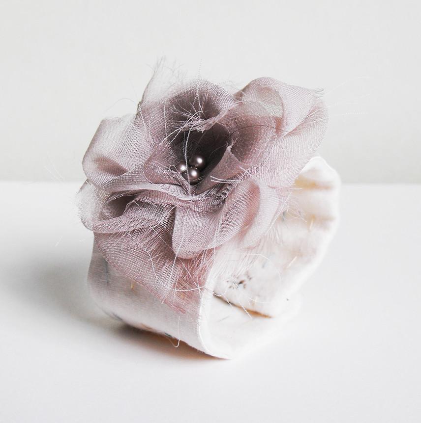 Bridal Silk Cuff 1