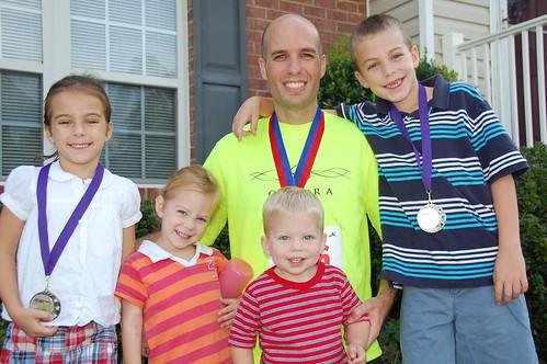 2010-09 Race Medals Darrell Kids