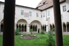 San Francesco monestary cloister by Yellow.Cat, on Flickr