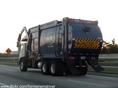WSI Mack MRU / E-Z Pack FEL - 100997 (FormerWMDriver) Tags: trash truck garbage front collection pack rubbish end ez fl waste refuse loader load mack inc services sanitation pac pak wsi fel frontloader frontload mru
