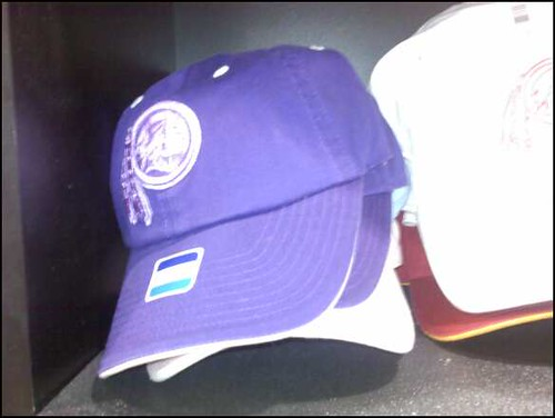 Purple Redskins cap