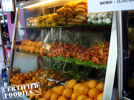 Egg Station sells tokneneng, kikiam, one day old chicken, balut, penoy, squid balls, siomai, etc. - CertifiedFoodies.com