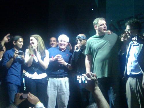 Last part of MC Hammer show at #tcdisrupt in San Francisco