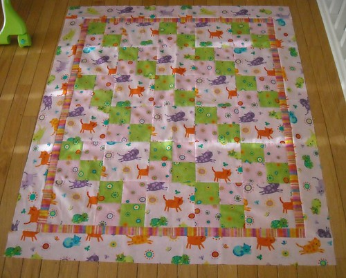 quilt top for Quilts for Kids