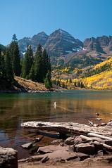 Aspen Colorado 2010 (L. N. Batides) Tags: usa fall colorado places coloradosprings aspen 2010 maroonbells d300
