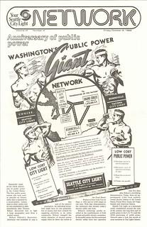 Public power anniversary in City Light newslet...