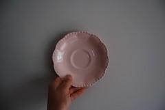 Coffee Saucer (Utilityware) Tags: china sol antique rosa utility retro sunflower beryl flatware celeste alfredmeakin grindley jgmeakin peachpetal underglazed almondpetal woodandsons