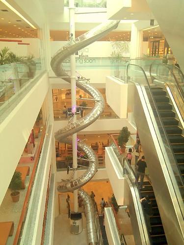 Empire Shopping Gallery - Lex Slide 5 storeys