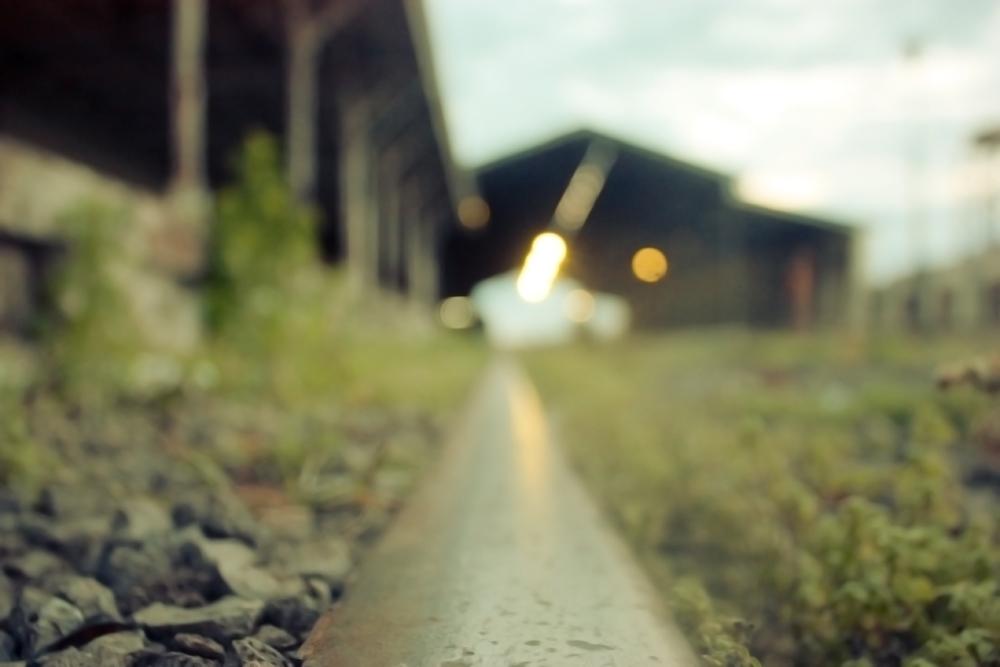 En las vías