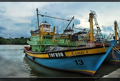 The voyage... (ojie_zakaria) Tags: fisherman ship village laut seashore pelabuhan ikan nelayan kapal trengganu besut ojie tokbali