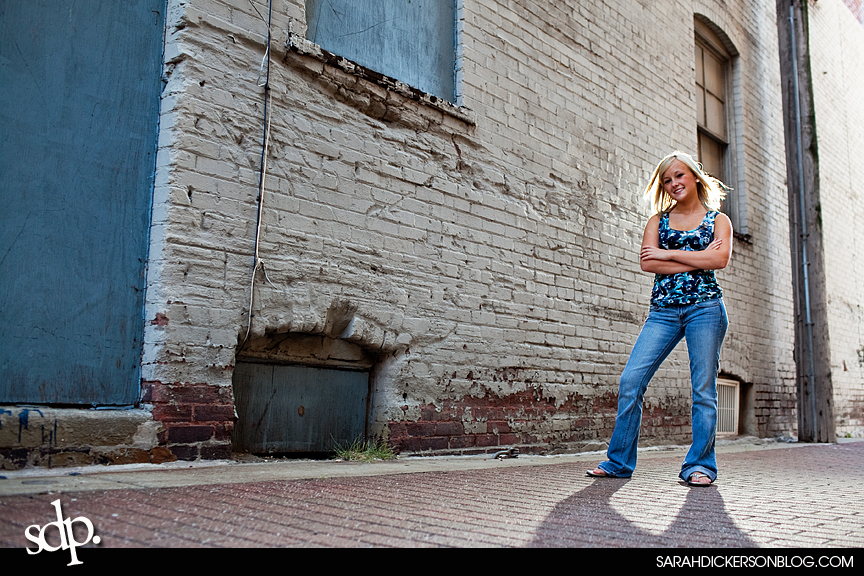 Kansas City River Market senior photography