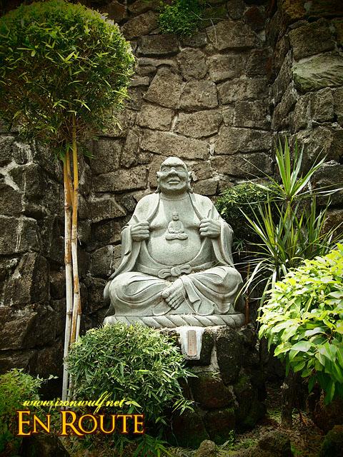 A Chinese Saint Pose