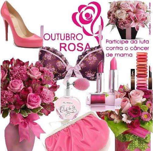♥♥ Outubro Rosa ♥♥