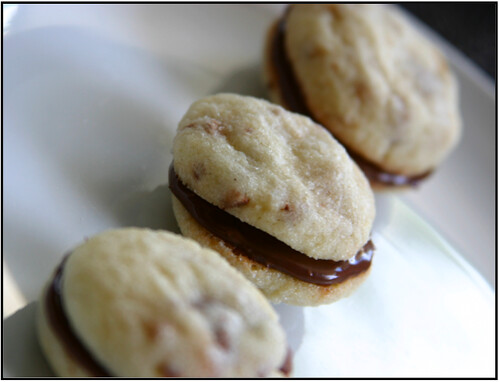 toffee cookies with nuttella_style and grace blog