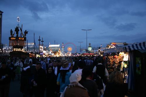 Entering the Oktoberfest