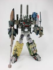 Transformers Bruticus Maximus Universe (FansProject Crossfire Ugraded) - modo combinado