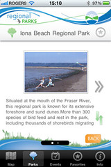 Metro Vancouver Parks App