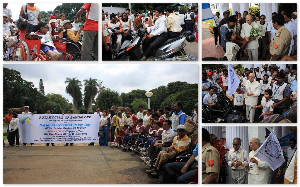 National Cerebral Palsy Day | Raj Bhavan | Bangalore
