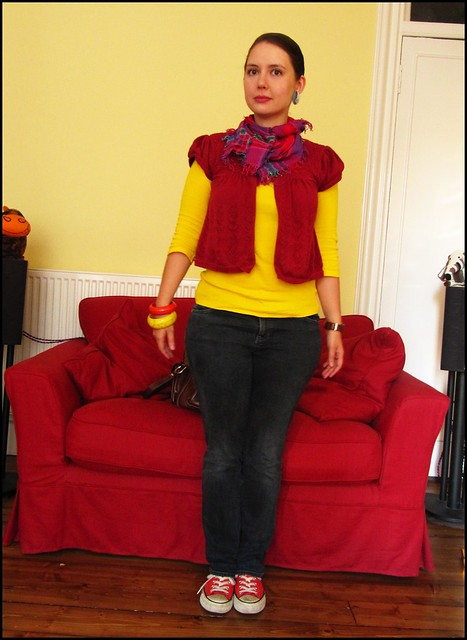 Outfit 30.9.10: primary colours
