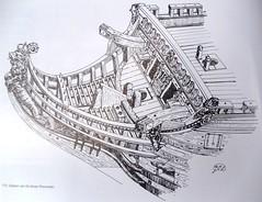 33)Zeven Provincien detailed bow drawing