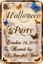 Z halloween party 2010 badge