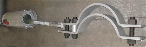 Variable Spring and Cro-Moly 3-bolt Clamp Assemblies for a Power Generation Facility