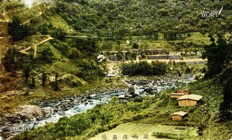 嵐山溫泉全景