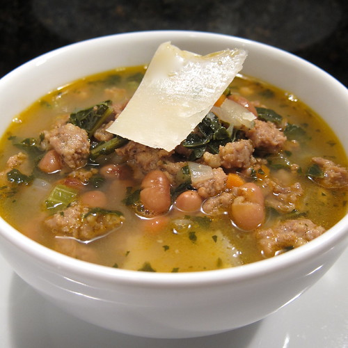 A Good Appetite: Sausage and Bean Soup