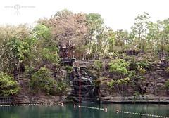 Parque das Fontes / Rio Quente - GO (KTSFotos) Tags: park brazil fish hot water rio gua brasil aqua go resort peixe r1 kiyoshi esplanada quente gois sonydscr1 ktsfotos